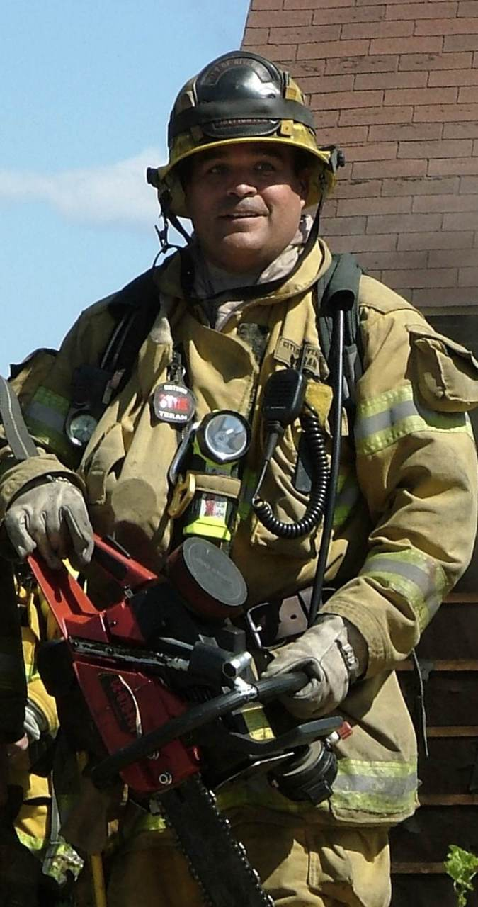 """Teran's motto was """"Go Hard or Go Home"""" and rigorous training methods set the new standard for the Riverside fire department."""