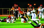 STUFFED: The Riverside City College backfield rushed for a 118 total yards on offense against Mt. San Antonio in the SCFA Title Game. (Luis Solis | Photo Editor)