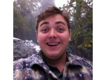 Not forgotten: Christian Griffith was described as a joyous person, which can be seen in his Facebook profile picture.
