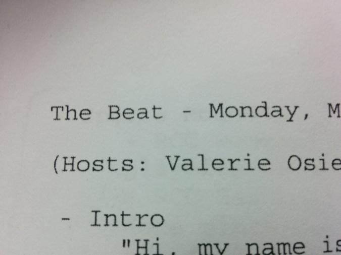 The Beat Script EP1