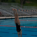 "Freshmen Emily Dunkerson was a standout among her peers and the Orange Empire Conference. She won the women's 1-meter and 3-meter diving event during the Orange Empire Conference Championships. She also won the Diver of the Year Award. ""It felt great and I was shocked I won the award, because this is my first year diving and other divers have been doing it for a while,"" Dunkerson said. She also won first place in the women's 1-meter diving event during State Championships."