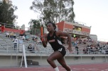 Kayla Wilson finished second in the 200 meter dash at the CCCAA State Track and Field Championships for Riverside City College with a time of 24.59 seconds. Wilson also took third in the 100 meter dash with a time of 11:78 to conclude her freshman year. Her efforts in other events at the state meet contributed to the RCC women's track and field team taking third place.
