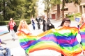 Gender and Sexualities Alliance member rallies against discrimination on May 26. Victor Duran   Viewpoints
