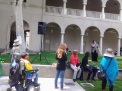 Asher Jones, GSA Event Coordinator, speaks at the Gender and Sexualities Alliance Rally in the Quadrangle on May 26.Crystal Olmedo   Viewpoints