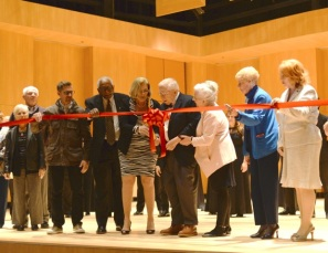 RCCD's Board of Trustees cut the ribbon for the grand opening of The Henry W. Coil, Sr. & Alice Edna Coil School for the Arts which will house the District Offices and Riverside City College's Culinary Academy. (Stacy Soriano | Viewpoints)