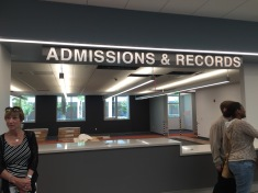The location of Admissions & Records within the new Charles A. Kane Student Services and Administration Building. (James H. Williams | Viewpoints)