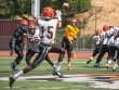 Stacy Soriano Viewpoints | Quarterback Ian Fieber finds wide receiver Jacoby Herring open for a pass during their scrimmage on Saturday, Aug. 20, 2016 held at the Arthur N.  Wheelock stadium.