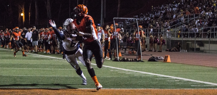 Riverside City College defeated Cerritos College 31-16, Oct. 1. The Tigers stay undefeated at 5-0.   Geovanny Guzman  Viewpoints